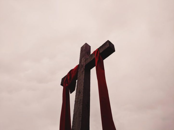 Cross on which Jesus died